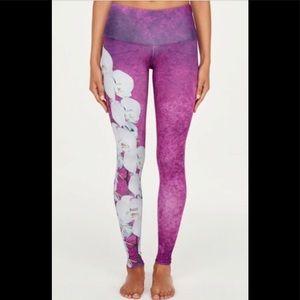 Noli Orchid Purple/Pink Leggings - Size Small